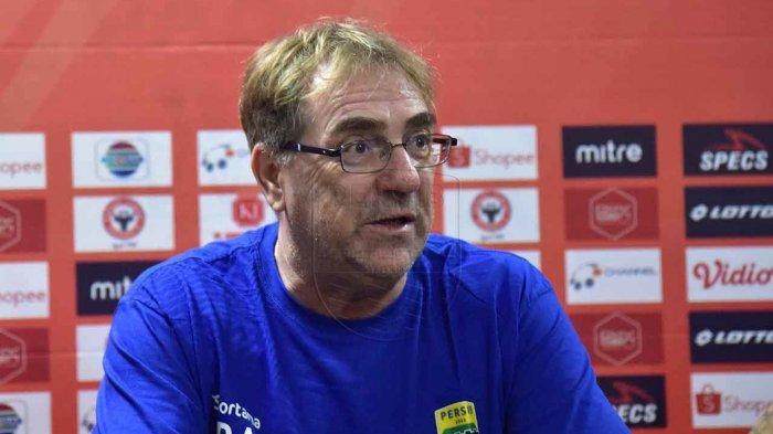 Liga 1 2020 Dibatalkan PSSI,Pelatih Persib Bandung, Robert: Kita Bisa Fokus ke Hal Lain yang Positif