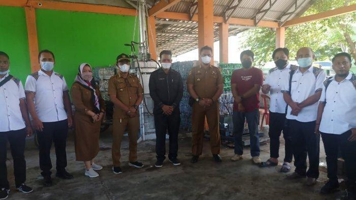 Studi Banding, DLH Gorontalo Kunjungi Tempat Pengelolaan Sampah di Silae Palu