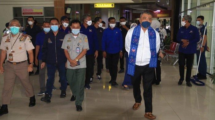 Rakorwil DPW Partai Nasdem Sulawesi Tengah: Rombongan DPP Dipimpin Ahmad M Ali Tiba di Palu