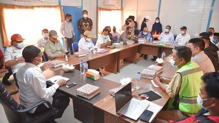 Kunjungi PT GNI, Wagub Sulteng Ingin Tenaga Kerja Lokal Diutamakan