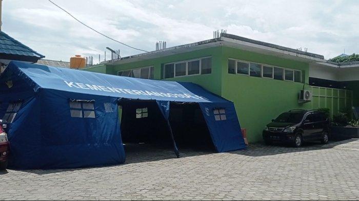 Kabar Baik dari Bekasi, Pasien Covid-10 Mulai Berkurang, Tenda Darurat RSUD Kota Bekasi DIkosongkan