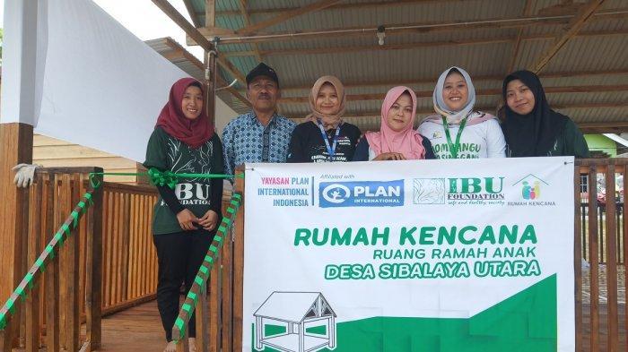 Yayasan Plan International Indonesia Bangun Ruang Ramah Anak di Sibalaya Utara, Sigi