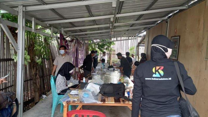 Swab Massal Antigen di Rumah Jurnalis Palu Jaring 3 Peserta Terkonfirmasi Covid-19