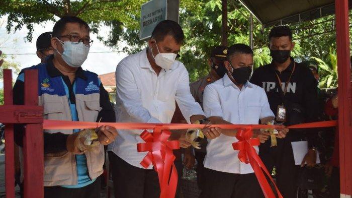 Diinisiasi PSMTI Sulteng, Hadianto Resmikan Rumah Komunitas Difabel di Nunu Palu