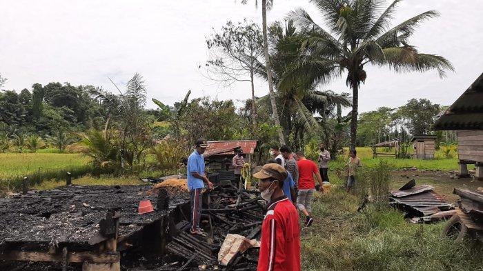 Hanya 15 Menit, Rumah Petani di Banggai yang Berukuran 4X6 Meter Ludes Terbakar