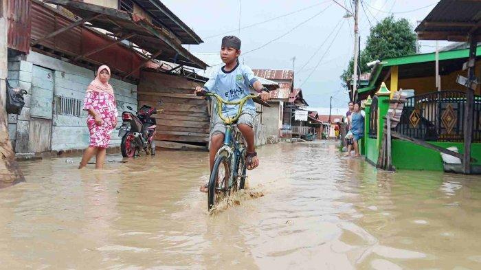 Ratusan Rumah Warga di Kelurahan Ujuna Terendam Banjir Kiriman Hulu Sungai Palu