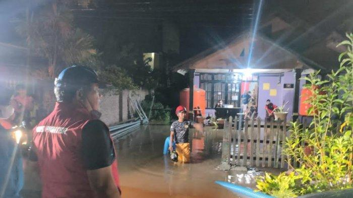Hujan Semalaman, 9 Rumah Warga BTN Pertiwi Palu Terendam Air