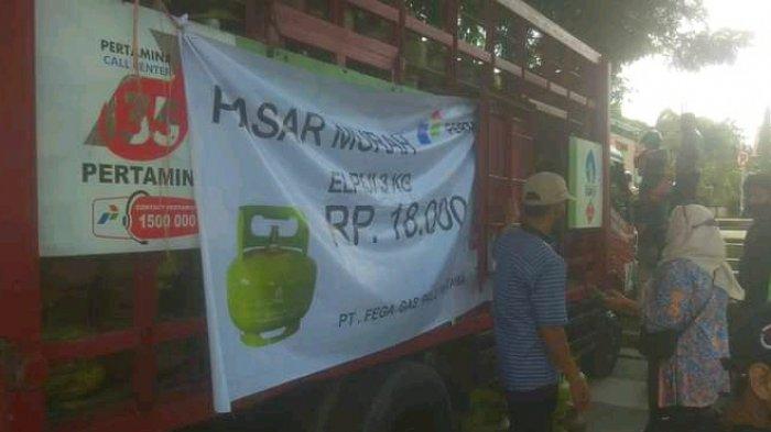 Pasar Murah Jual LPG Subsidi 3 Kg Seharga Rp 18 Ribu, Ini Lokasi dan Syarat Mendapatkannya