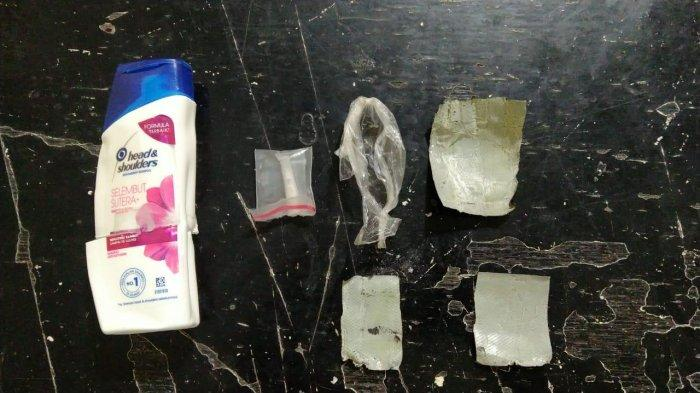 Sabu-sabu Diselundupkan ke Rutan Polres Banggai, Dikemas Dalam Botol Shampo