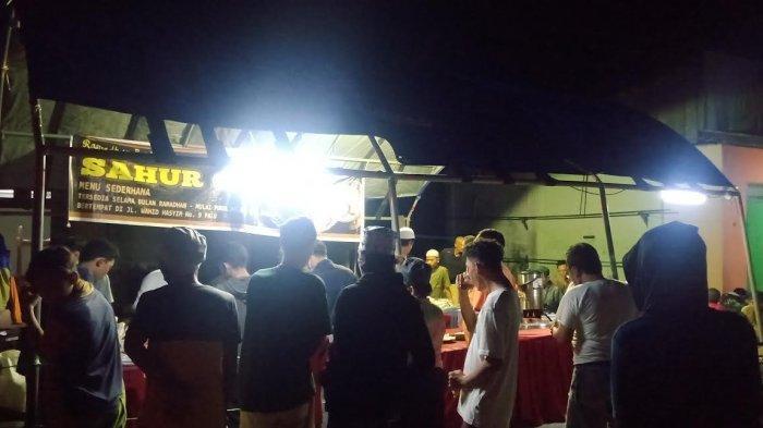 Keren, Himpunan Pemuda Alkhairaat Gelar Sahur Gratis Sepanjang Ramadan di Palu Barat