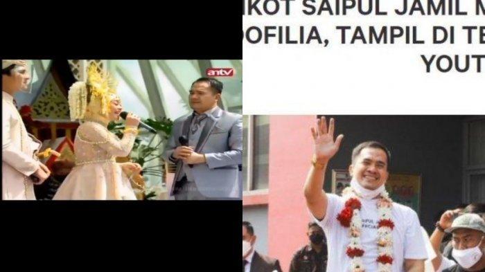 Saipul Jamil Hadiri Ngunduh Mantu Leslar, Live Duet Bareng Lesti Bak Tak Peduli Petisi Boikot