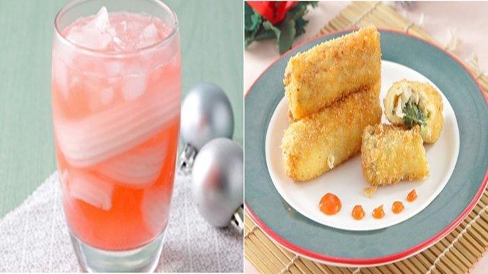 Resep Mudah Menu Buka Puasa Ramadhan 2021: Risoles Bayam Rogout dan Es Cocopandan Squash