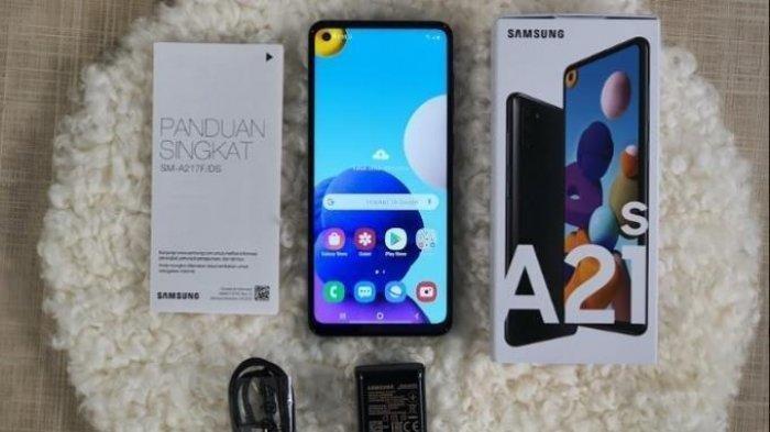 Update Daftar Harga Hp Samsung Di Bulan September 2020 Galaxy A21s Rp 3 1 Jutaan Tribun Palu