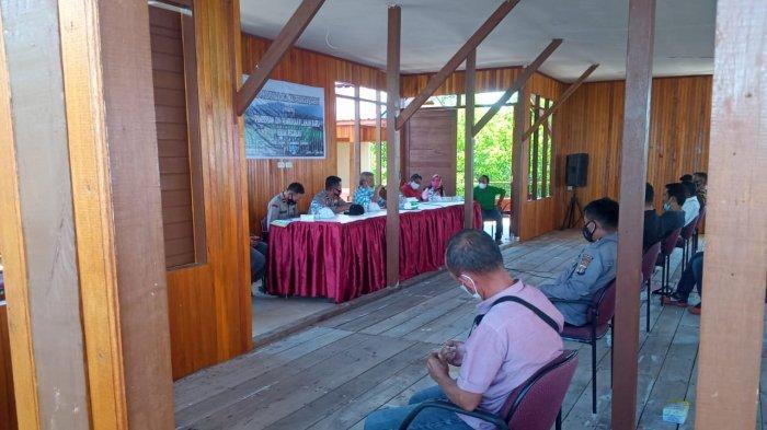 Bupati Parimo Pimpin Rakor Perangkat Daerah Tentang Tata Pemberian Izin Pembukaan Lahan Baru
