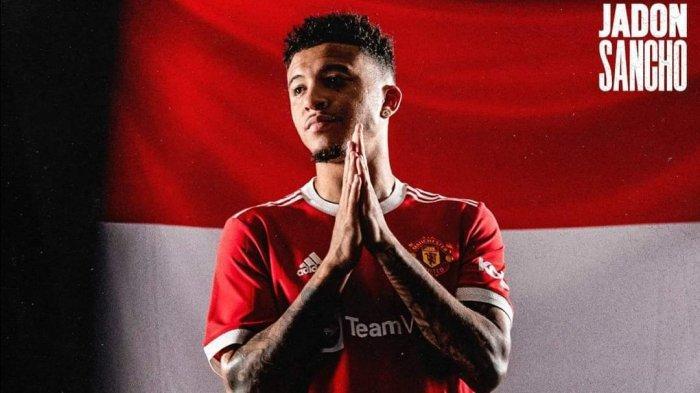 Resmi Diperkenalkan Man United, Sancho Bongkar Alasan Terima Rayuan Solskjaer