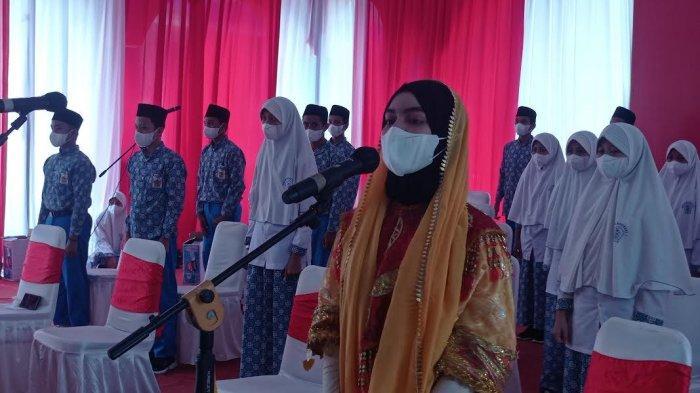 Curhat ke Jokowi, Santri Alkhairaat Palu Rindu Sekolah Tatap Muka