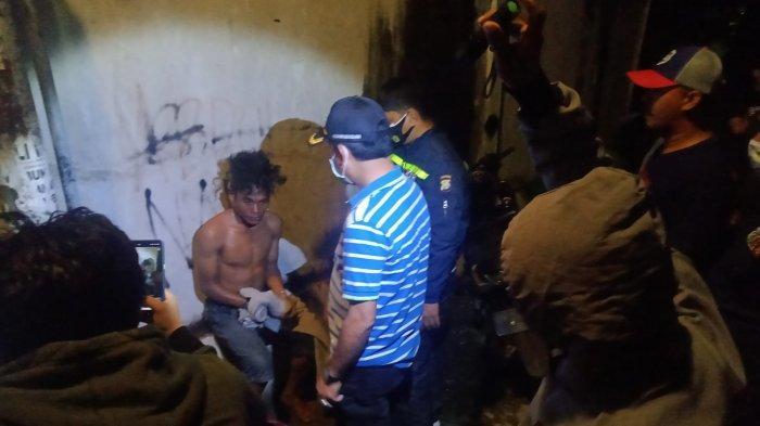 Pria Diamuk Massa di Lolu Selatan, Diamankan Satgas K5 dan Diserahkan ke Polisi
