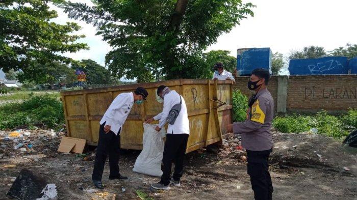 Patroli Rutin, Satgas K5 Temukan Sampah Dibuang di Luar TPS