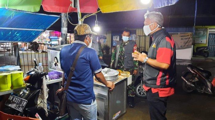 Satgas K5 Lolu Utara Kembali Tegur Kebersihan PKL di Jl Kartini dan Jl Gn Nikolalaki