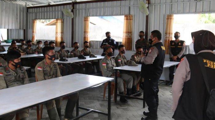 Temui Pasukan Pemburu Teroris Poso, Tim Biro Psikologi SSDM Polri Semangati Personel