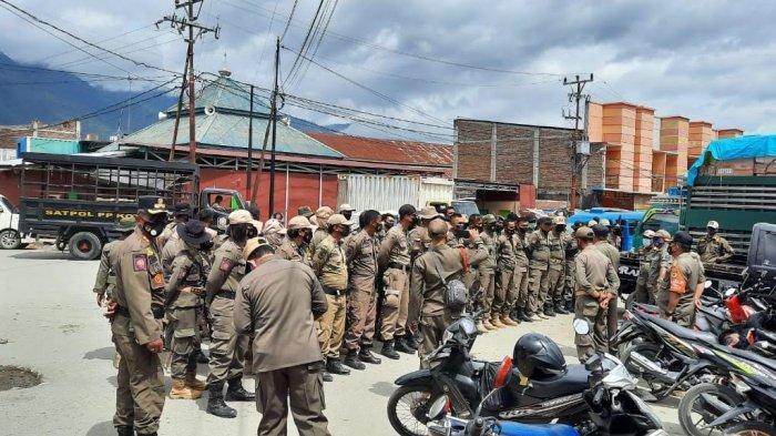 PKL Masih Jualan di Jl Cempedak Palu, Satpol PP Kota Palu Tegur Pedagang