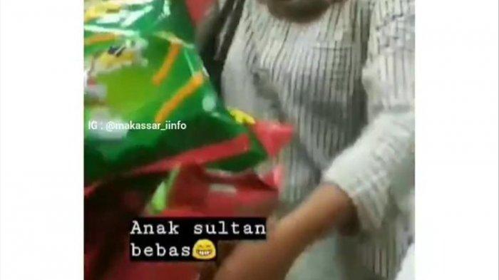 Viral Video 7 Mahasiswa di Makassar Mengacak-acak Barang di Minimarket