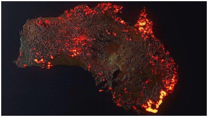 8 Fakta Kebakaran Masif di Australia, 24 Orang Tewas, Hampir 500 Juta Satwa Kehilangan Nyawa