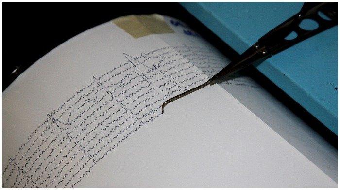 BMKG Catat Gempa Bumi Magnitudo 4.8 di Pesisir Selatan, Sumatera Barat, Kamis 14 November 2019 Sore
