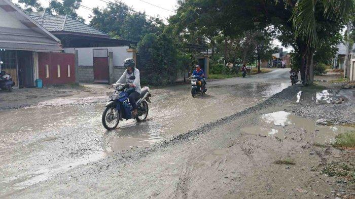 Jalan Alternatif ke Bandara Sis Al Jufri Palu Rusak, Sudah Berbulan-bulan Tak Diperbaiki