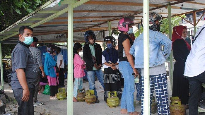 Pasar Murah Ramadan di Kota Palu: 524 Tabung LPG Subsidi Ludes Dibeli Masyarakat