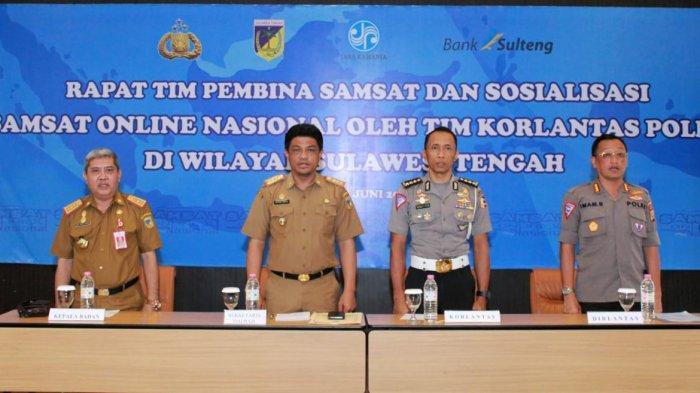Sistem Samsat 'Samolnas' Diklaim Bisa Mempercepat Pelayanan Samsat di Sulteng