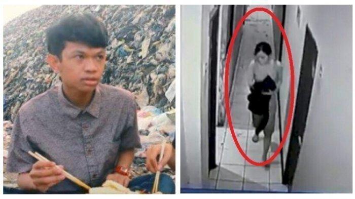 Detik-detik Selebgram Ari Pratama Tewas Ditikam Pacarnya, Terekam CCTV Check In Pukul 3 Pagi