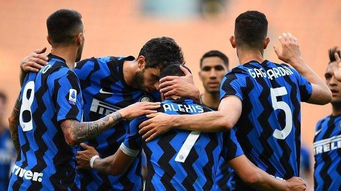 Hasil Liga Italia, Sabtu 8 Mei 2021: Pesta Gol, Inter Milan Tuntaskan Dendam Bantai Sampdoria