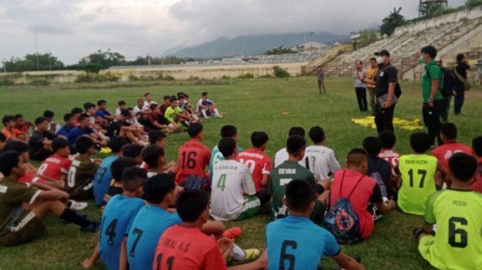55 Pesepakbola Pulau Sulawesi Ikut Seleksi Timnas Garuda U-16 dan U-19, Sulteng Libatkan 22 Pemain