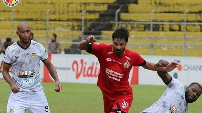 Hasil Liga 1 2019, Semen Padang Kalah dari PS TIRA Persikabo di Kandang Sendiri