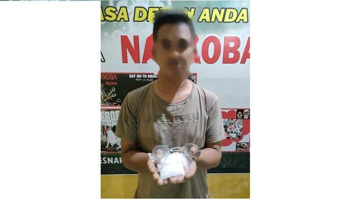 Oknum Buruh Pelabuhan di Banggai Diduga jadi Kurir Narkoba, 100 Gram Sabu Disita Polisi