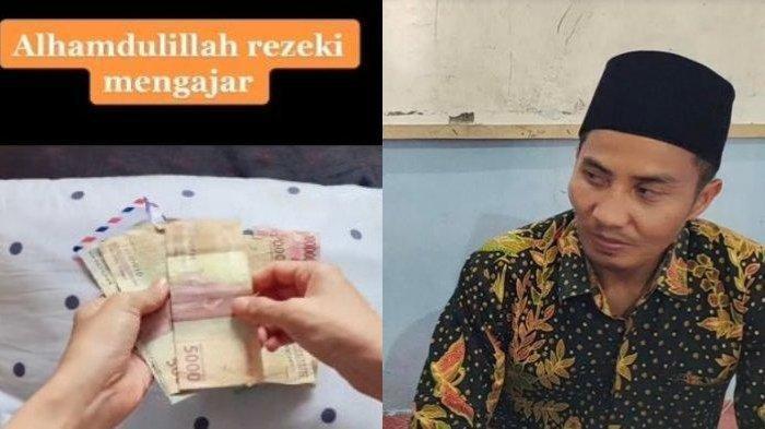 Viral Kisah Guru Beri Gaji Bulanan ke Sang Istri, Dini Kaget Suaminya Diupah Rp 2500 Sekali Ngajar