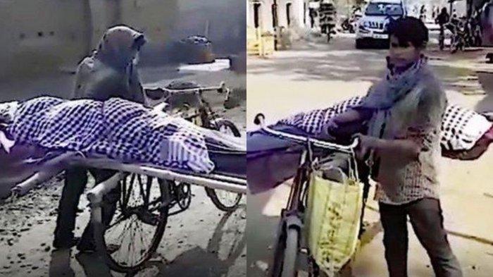 Viral Remaja Bonceng Jenazah Ibunya di Sepeda, Warga Tak Bantu Pemakaman Karena Dia Miskin