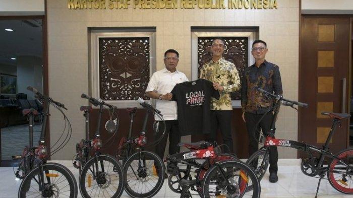 Klarifikasi Soal Sepeda Pemberian Daniel Mananta, Moeldoko: Itu untuk KSP, Bukan untuk Pak Jokowi