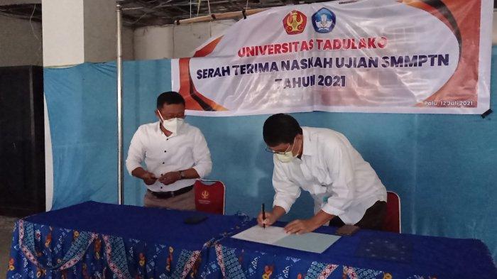 Peserta SMMPTN Universitas Tadulako 2021 Meningkat 23 Persen
