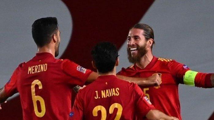 Hasil UEFA Nations League - Spanyol Bantai Ukraina, Jerman Ditahan Swiss