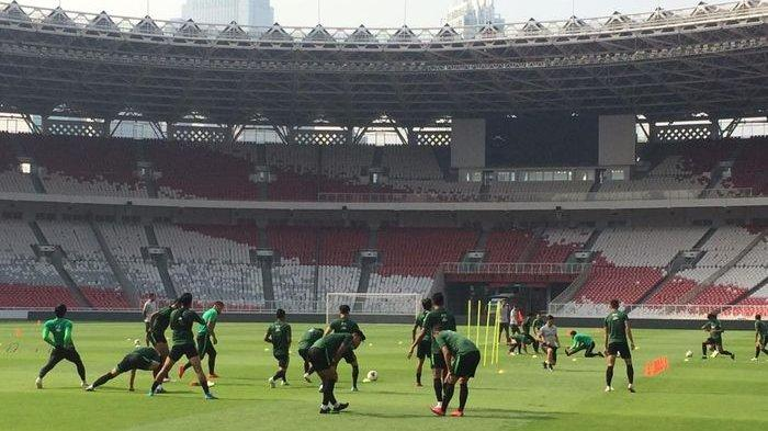 Empat Pemain Absen dalam Latihan Perdana Timnas Indonesia