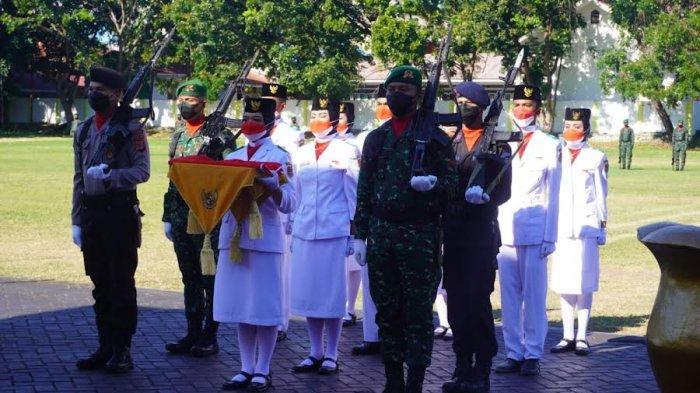 Sosok Shaira Anatasia Hinelo, Pembawa Baki Upacara di HUT ke-76 RI di Banggai