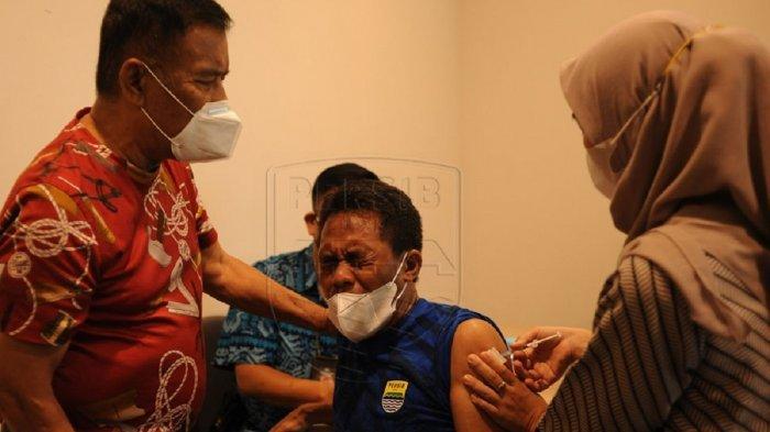 Jelang Piala Menpora, Skuad hingga Staff Persib Bandung Jalani Vaksinasi Covid-19