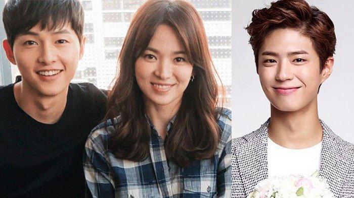 Park Bo Gum Dituding Jadi Penyebab Perceraian Song Joong Ki dan Song Hye Kyo, Agensi Angkat Bicara