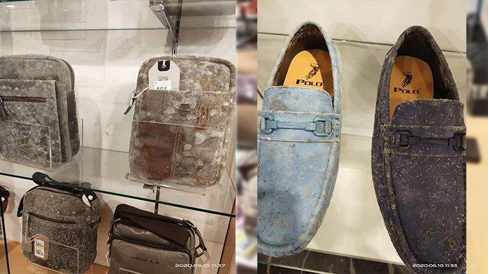 Viral Foto Sepatu & Tas Berjamur Akibat Mal Tutup 2 Bulan, Begini Penjelasan dari Pengelola Mal