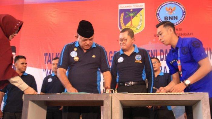 BNN Sebut Jumlah Orang yang Konsumsi Narkoba di Provinsi Sulteng Capai 36.694 Jiwa