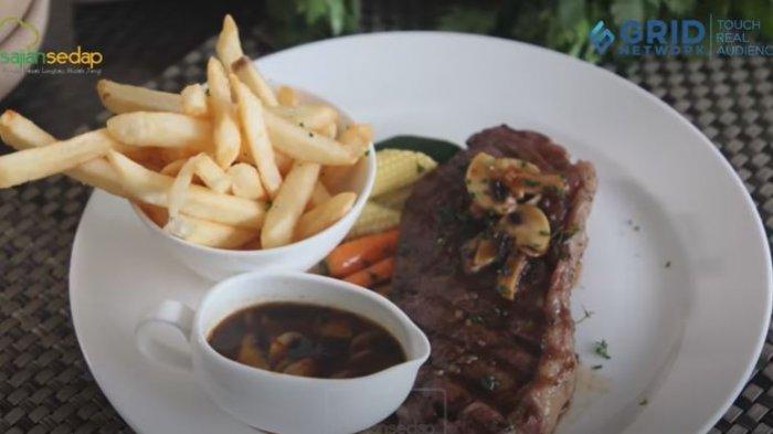 Resep Mudah Membuat Steak ala Hotel Bintang Lima di Rumah dengan Bahan Sederhana