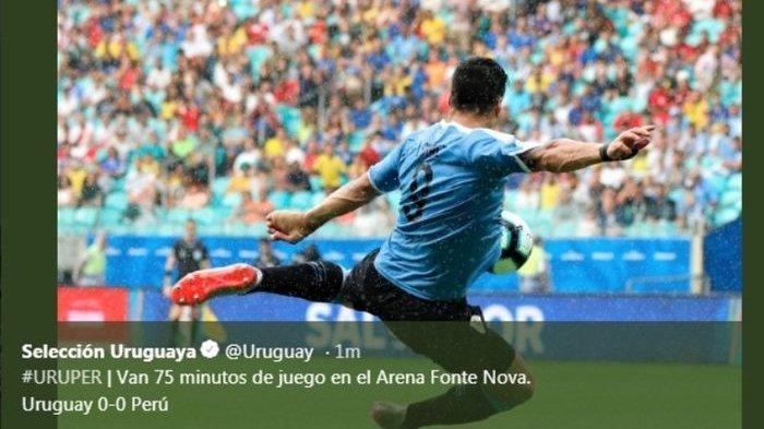 Hasil Copa America 2019 - Luis Suarez Gagal Ambil Penalti, Uruguay Gugur di Perempatfinal