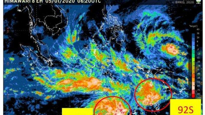 Banggai Kena Dampak Siklon Tropis, BMKG Luwuk: Tetap Waspada